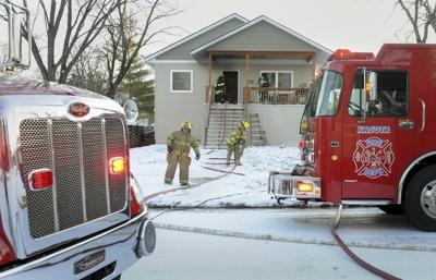 Families displaced in Kasota duplex fire