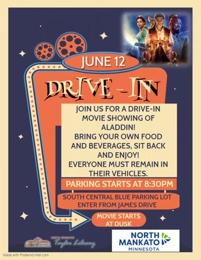 drive-in movie poster