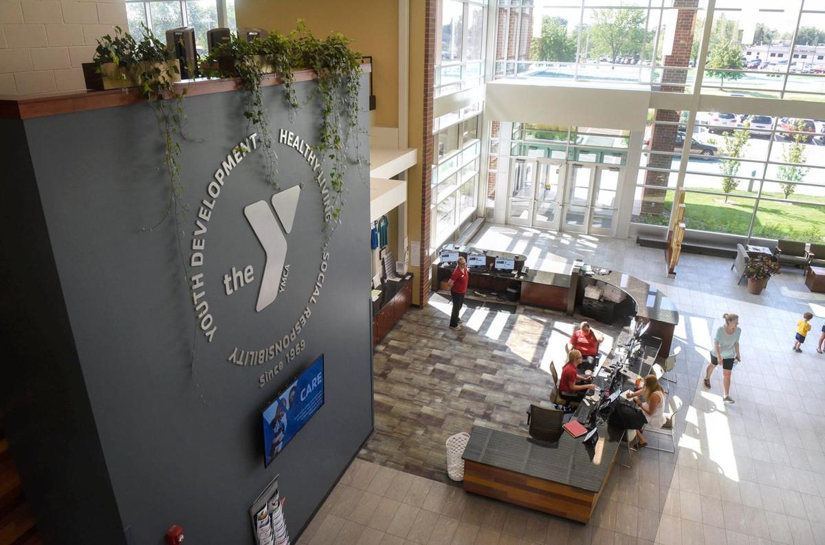 St. Cloud YMCA lobby
