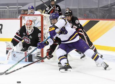 MSU men's hockey v. St. Cloud State 2