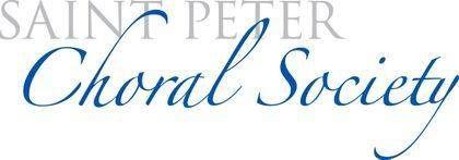 St. Peter Choral Society logo