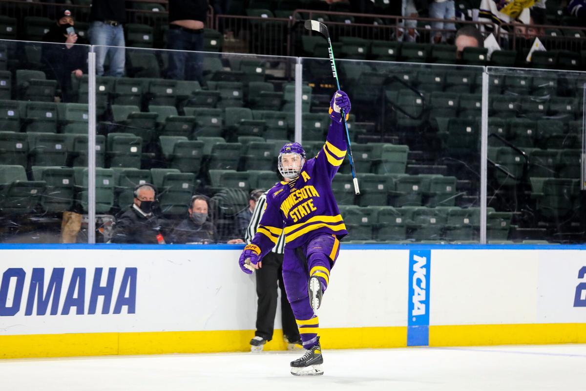 MSU hockey vs. Minnesota 3