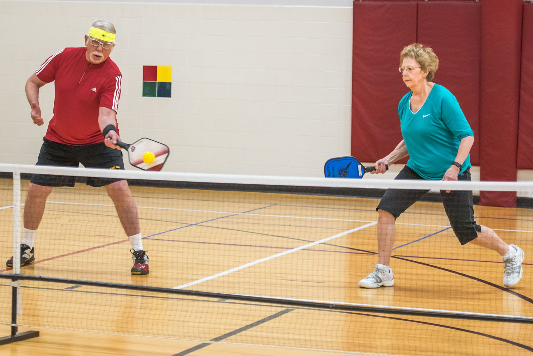 Mixed doubles badminton positions for sexual health