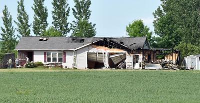 New Ulm house fire