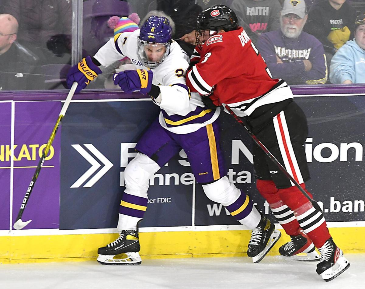 MSU men's hockey v. St. Cloud State 3