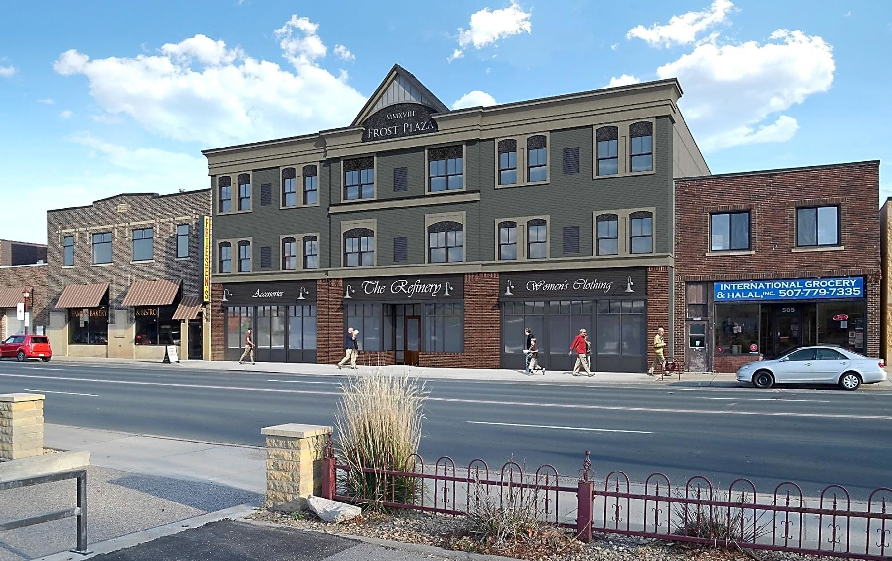New Retail Apartment Building Going Up In Old Town News