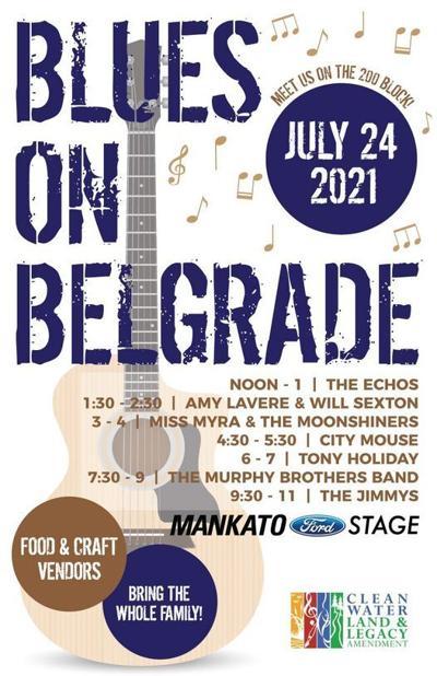 Blues on Belgrade 2021 poster