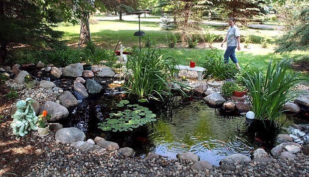 Backyard water features on display   Lifestyles   mankatofreepress.com