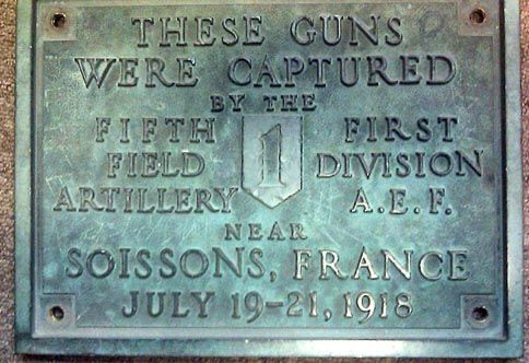 WWI plaque 1