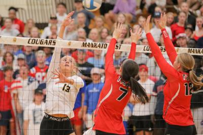 East Belle Plaine volleyball foto