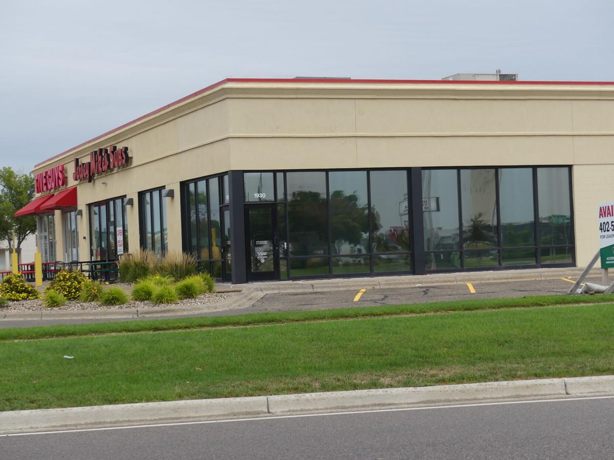 Popeyes strip mall