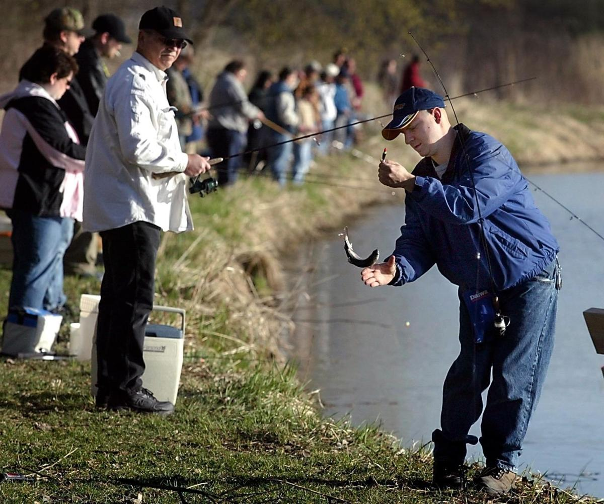 Trout fishing coming to a pond near you sports for Trout fishing mn season
