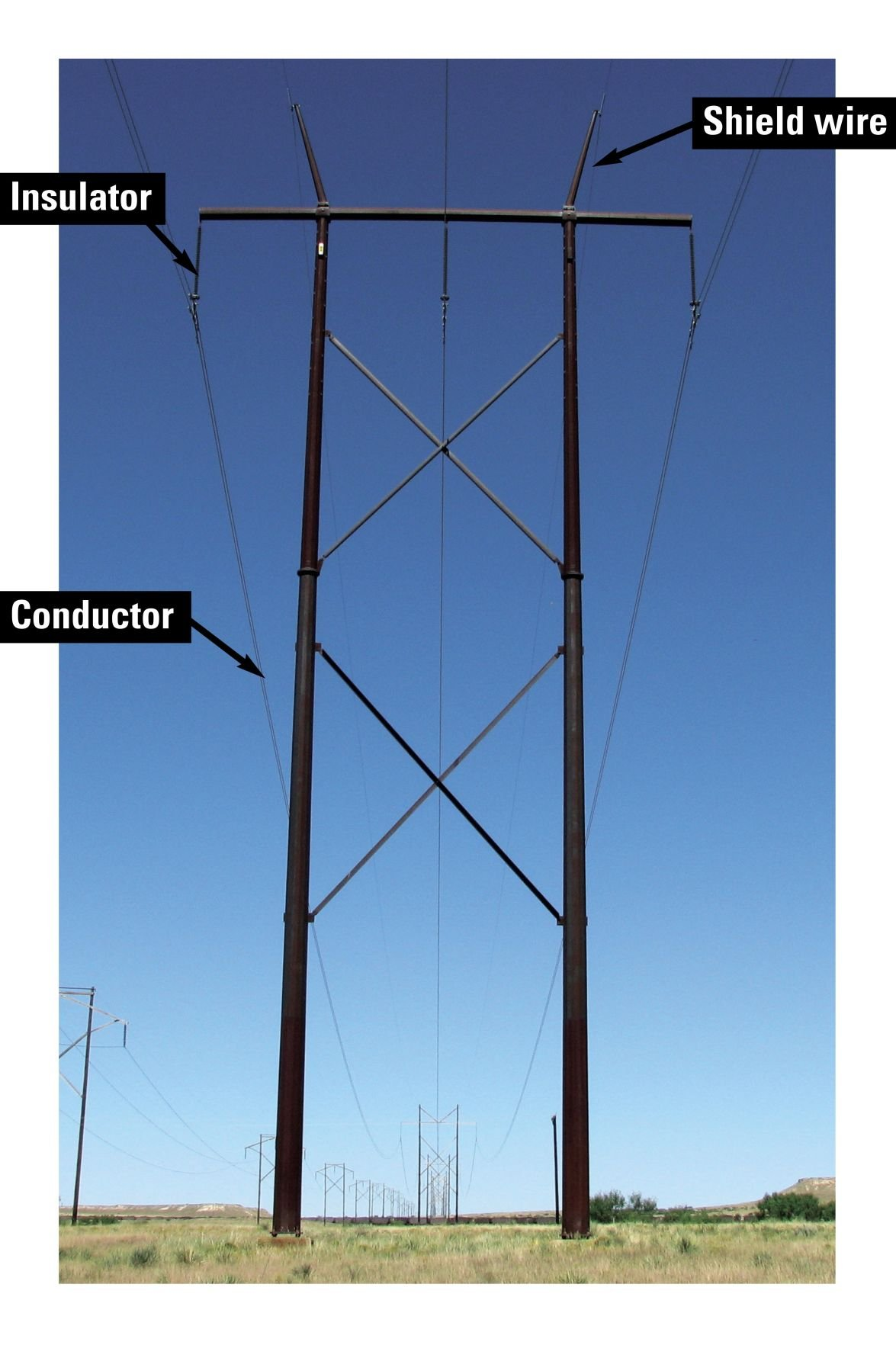 Stacked H Frame Electrical Poles : Mankato to xcel go west with proposed power line news
