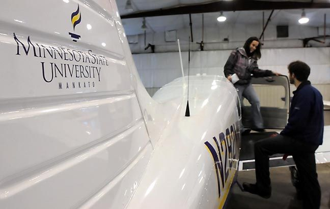 MSU aviation school hangs in balance | Local News | mankatofreepress.com