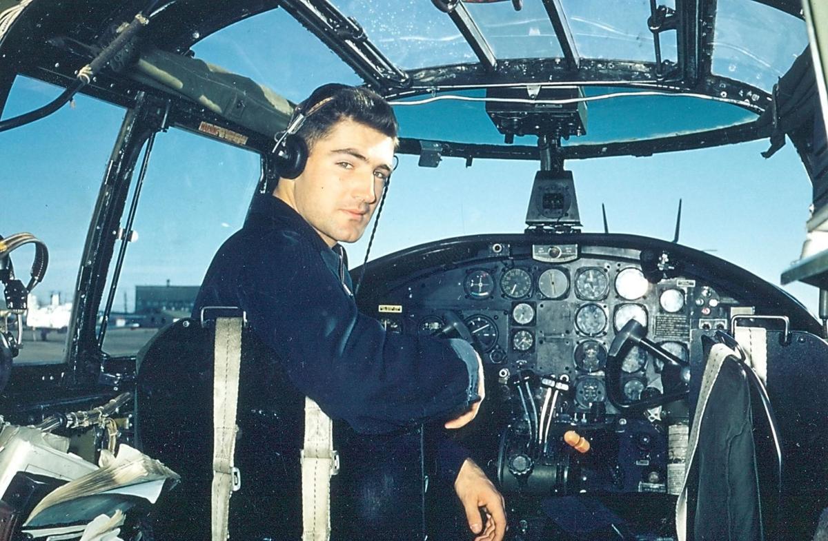 Michaletz in airplane