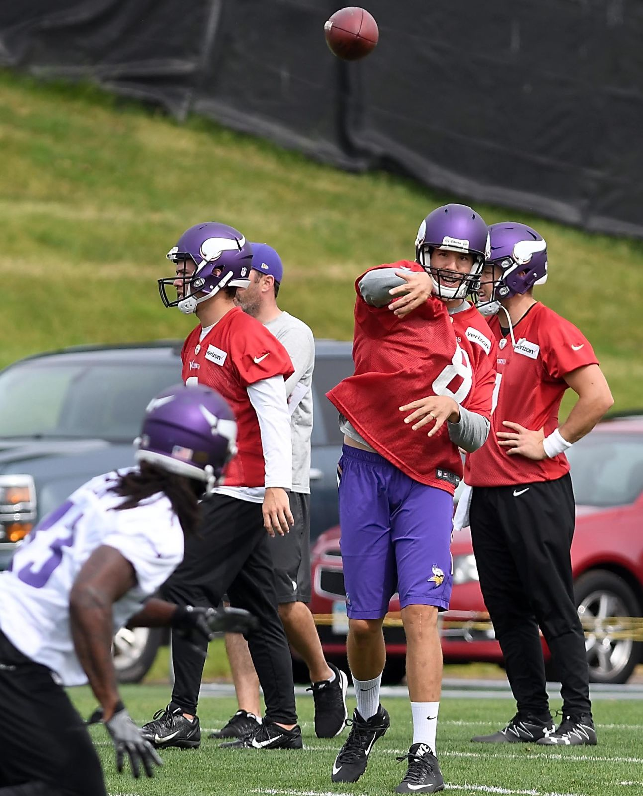 Mike Zimmer expects Teddy Bridgewater to start Vikings' camp on PUP list