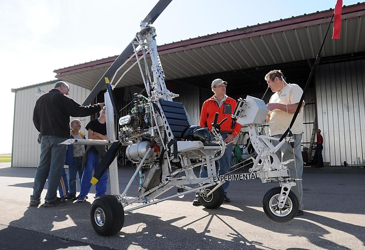 Gyrocopter enthusiasts share their passion | News