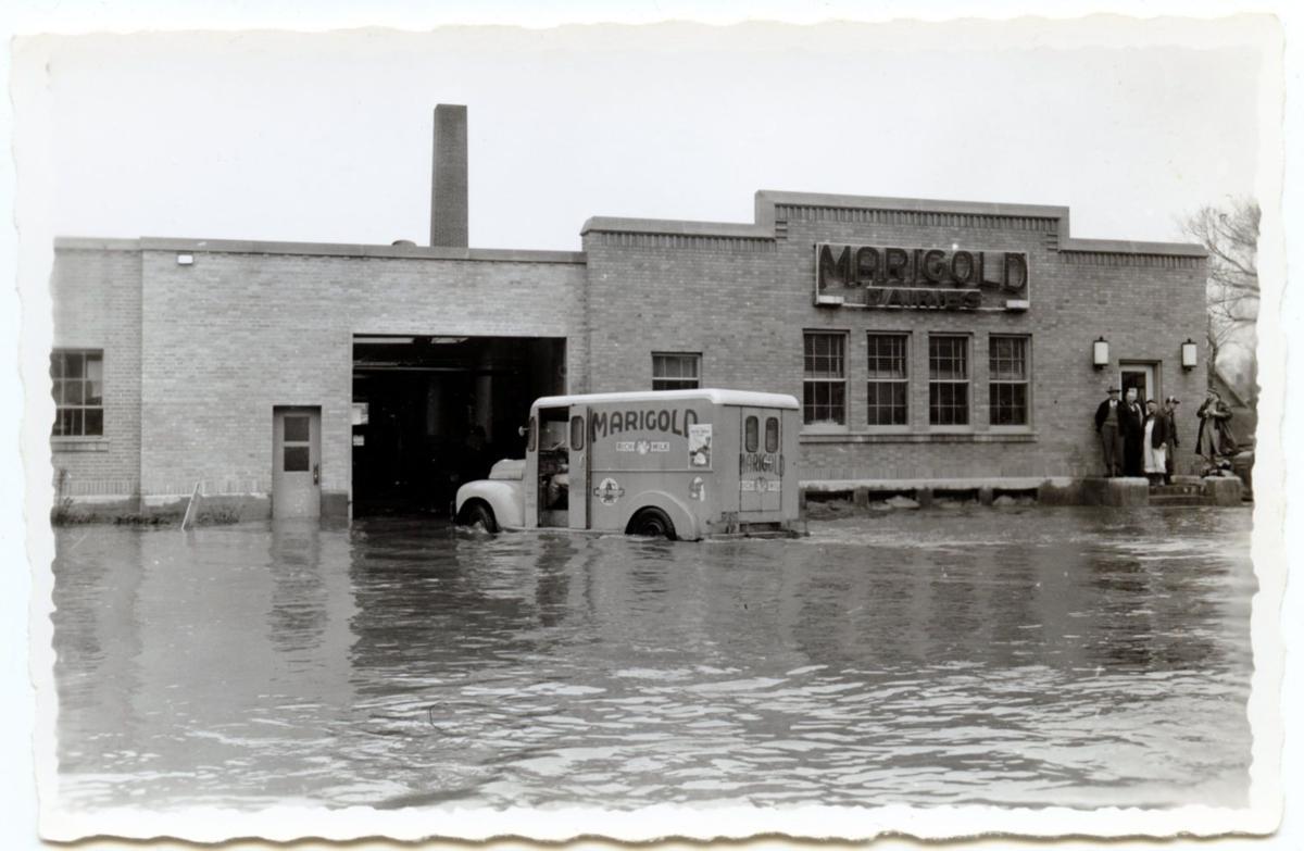 North Mankato devastated by '51 flood