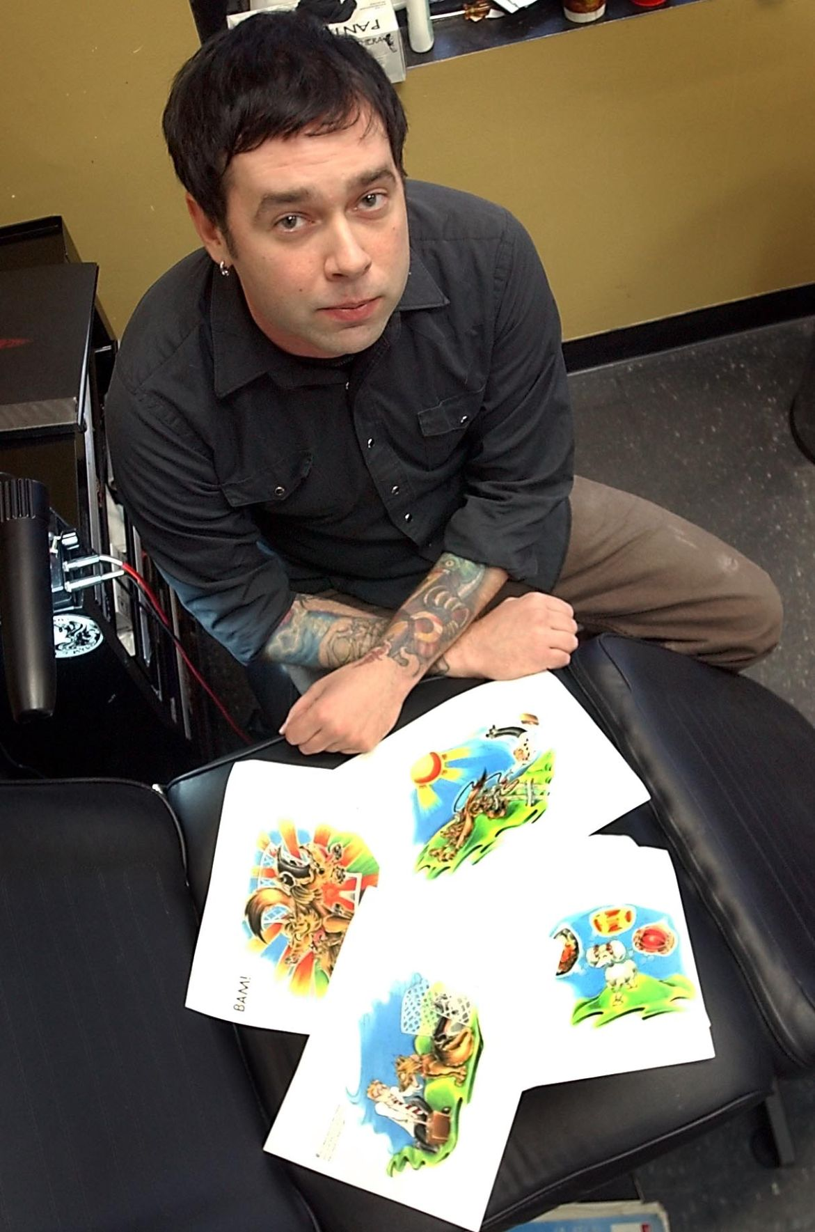 tattoo artist signs on to illustrate children s books local news