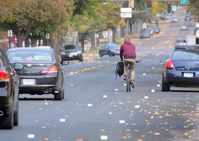 Mankato bike lanes