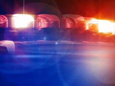 Police lights logo