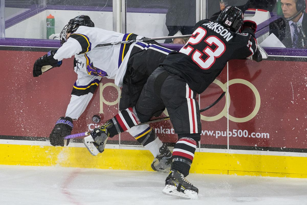 MSU Hockey vs STC 2