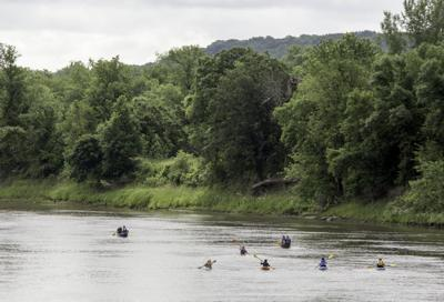 Canoeists on the Minnesota River (copy)