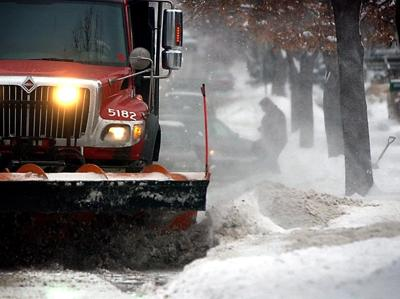 City plowing