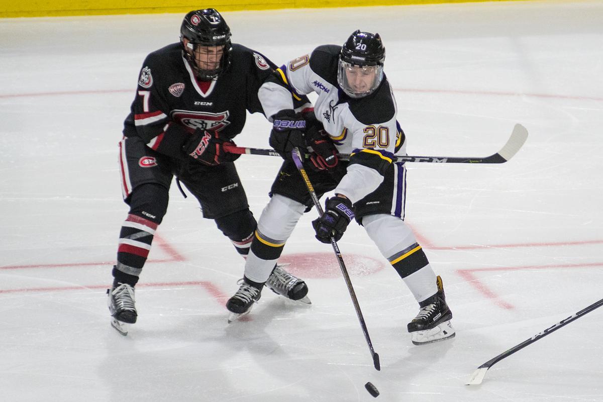 MSU Hockey vs STC Main