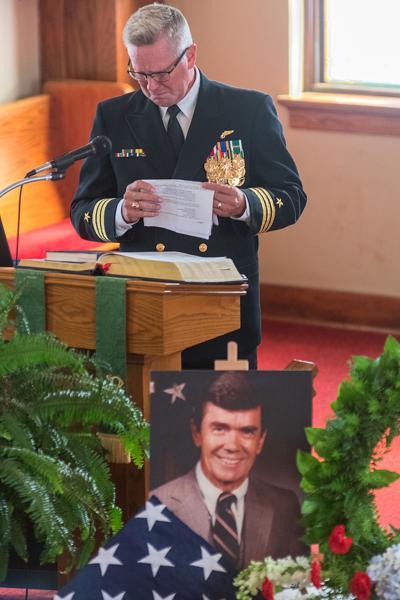 Bruce Laingen Funeral Main