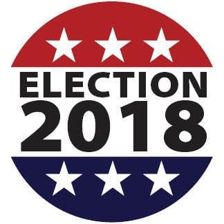 Election 2018 logo