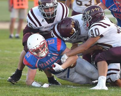 St. Clair/Mankato Loyola football v. Lester Prairie/Holy Trinity 2
