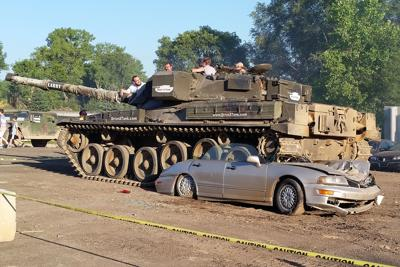Drive A Tank >> Lawsuit Seeks Damages For Injury At Drive A Tank Local