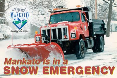 Snow emergency logo
