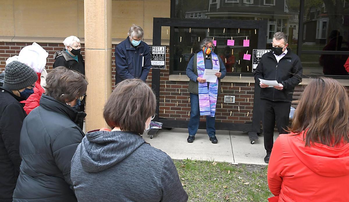 Racial justice prayer vigil
