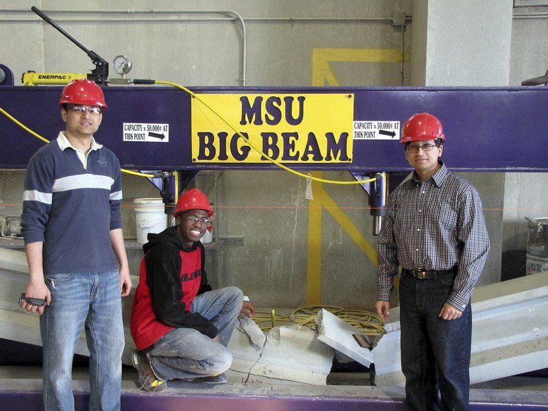 New grant helps MSU build a concrete future