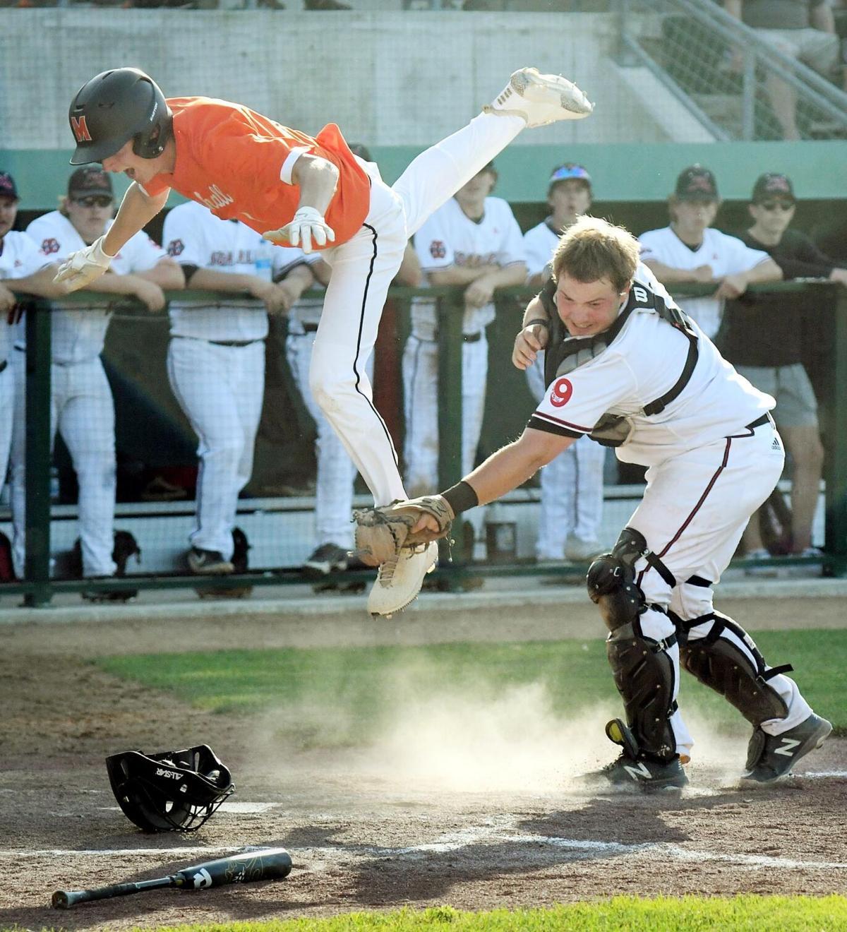 West baseball vs. Marshall 2