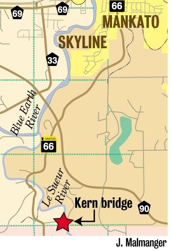 Kern Bridge location