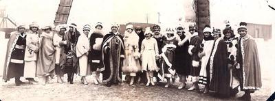 1920 Mankato Winter Carnival royal court