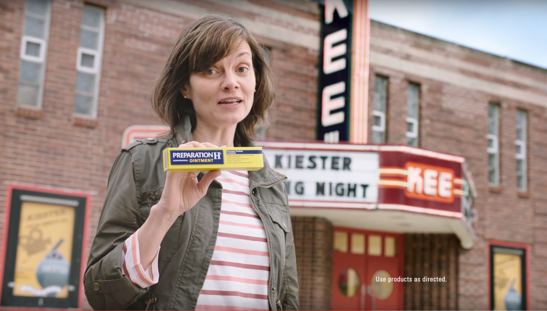 Kiester Gets Comfortable With Preparation H In Tv Ad News