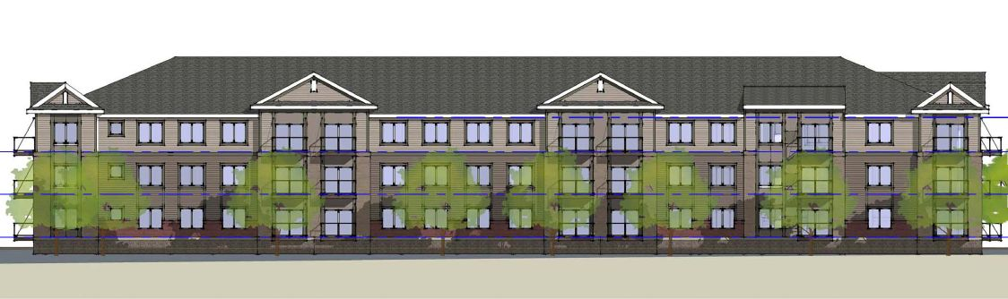 Apartment Rendering For CommonBond Communities Proposed Mankato Project