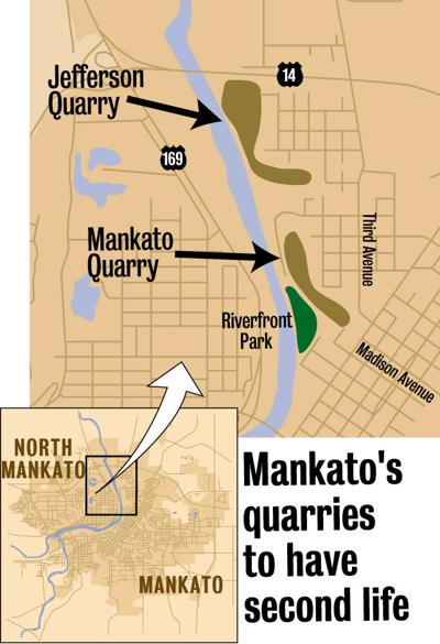 Mankato quarries map