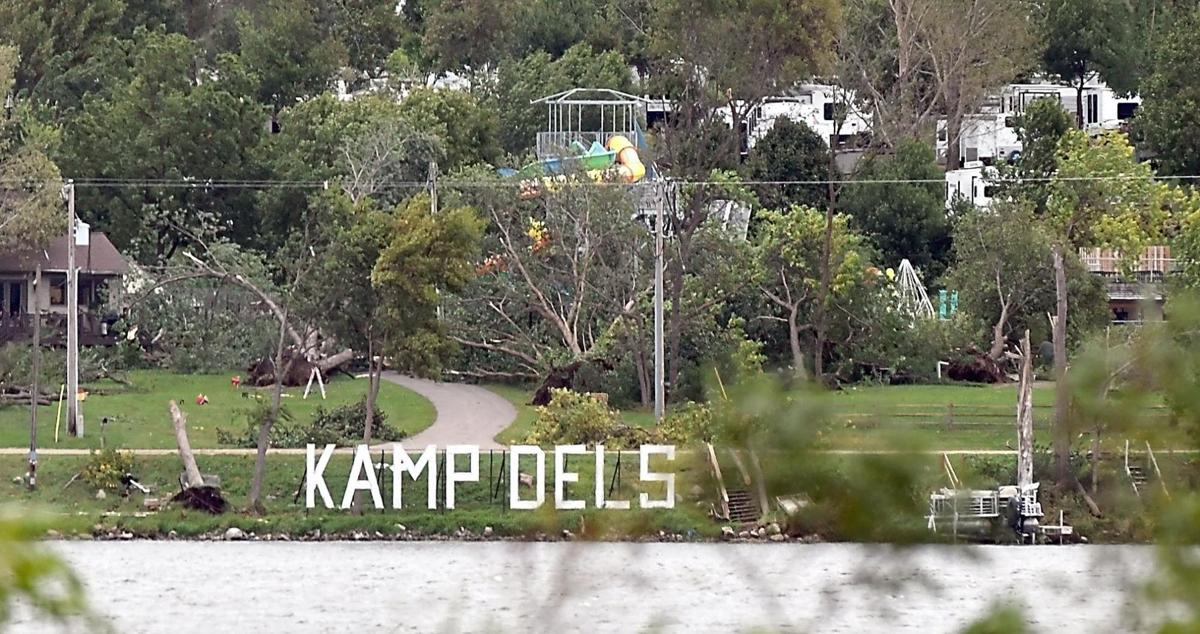 Kamp Dels Storm damage file photo
