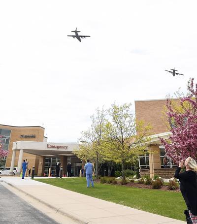 Mayo Clinic Health System in Mankato flyover (copy)