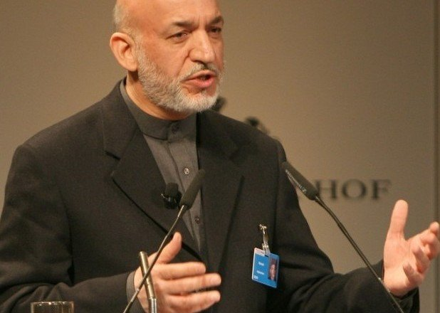 Hamid Karzai at the Munich Security Conference
