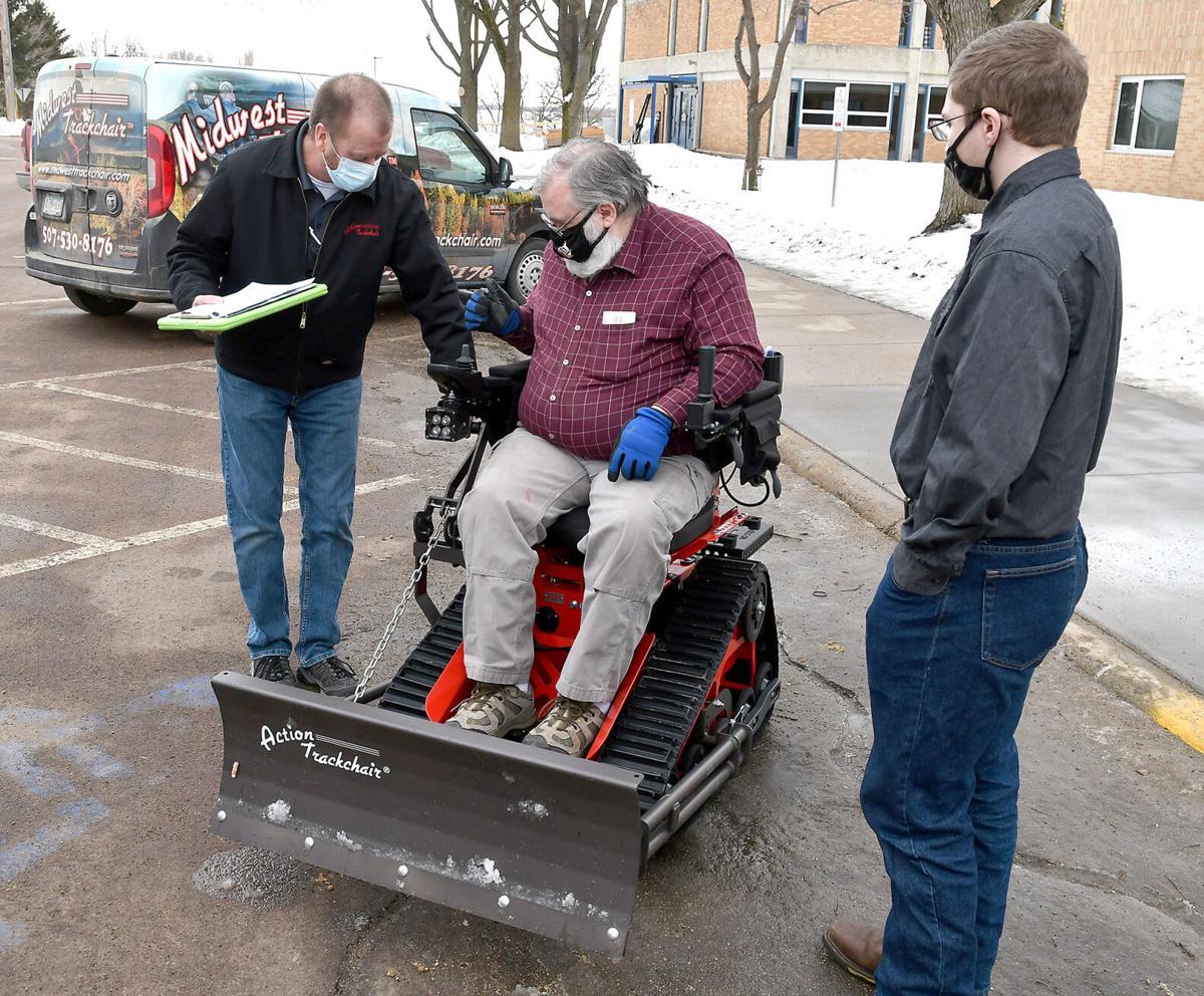 Cleveland teacher's new wheelchair 3