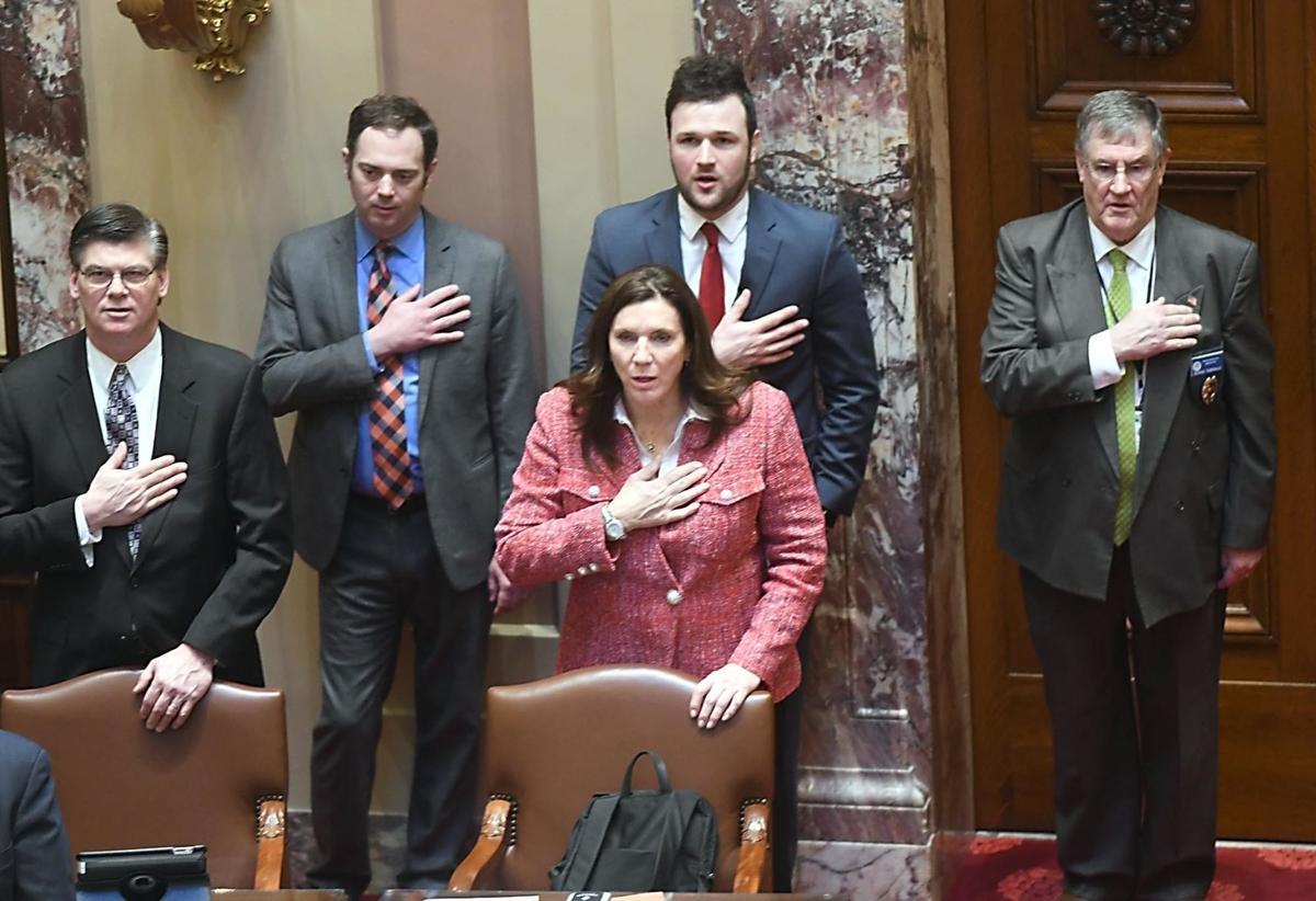 Sen. Julie Rosen says the Pledge