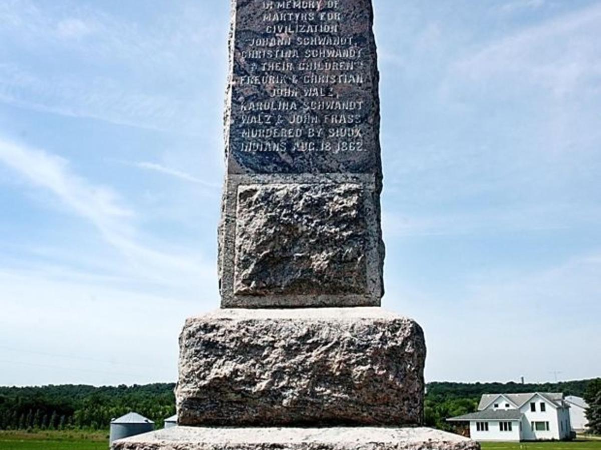 Dakota Valley History Altered In 1862