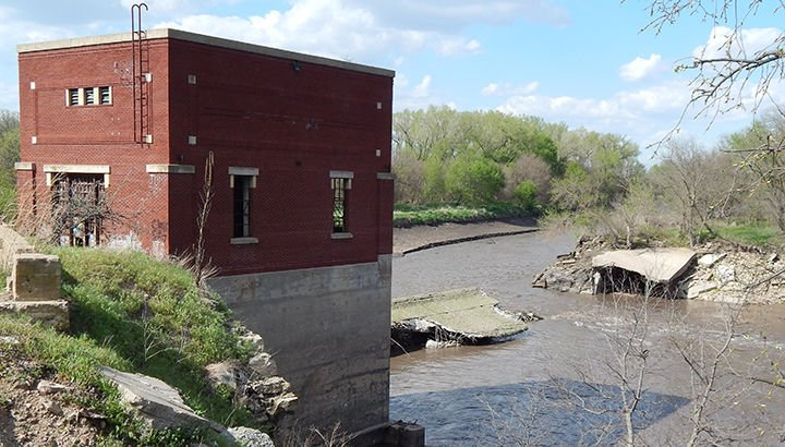 Big Blue River dam collapses | News | marysvilleonline net