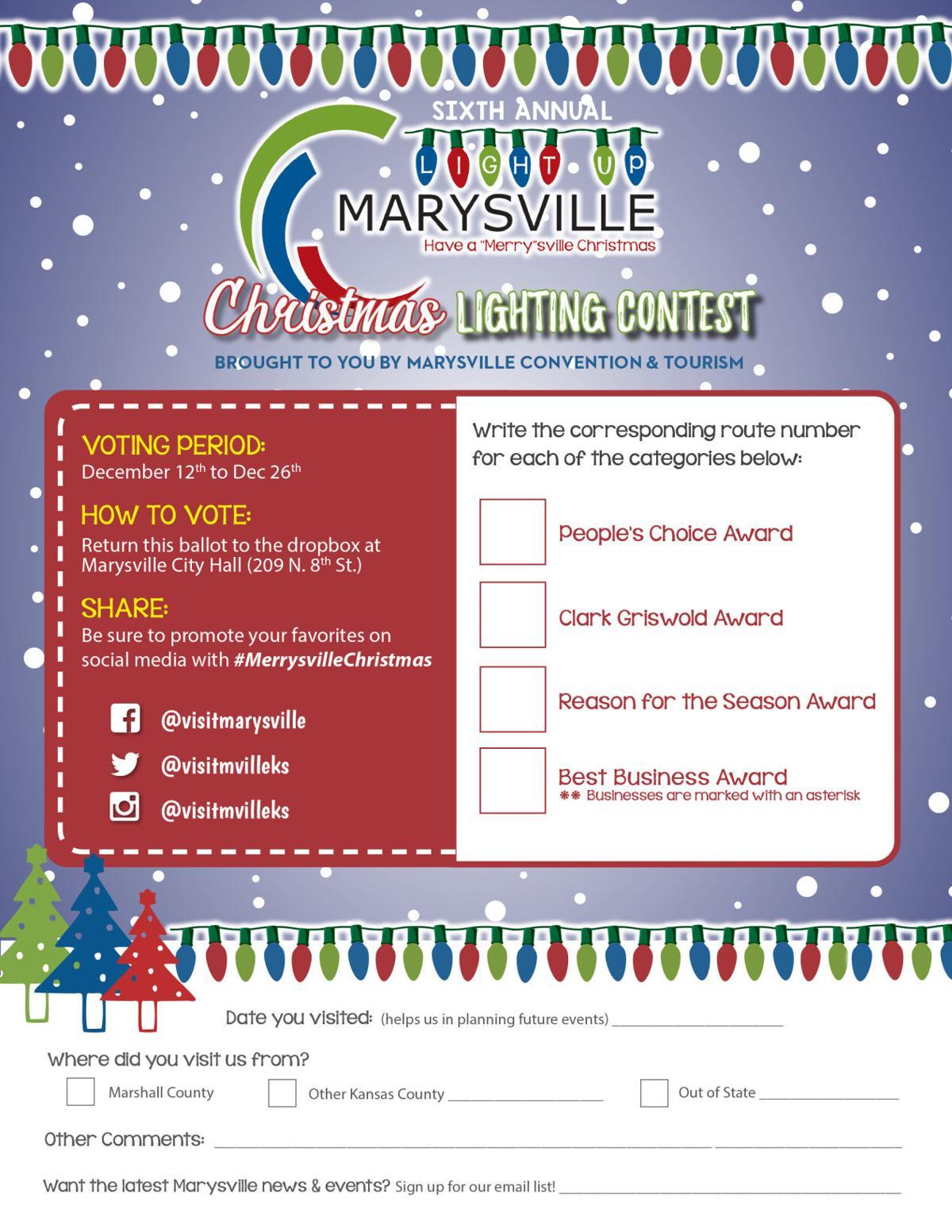 Light Up Marysville! starts Saturday